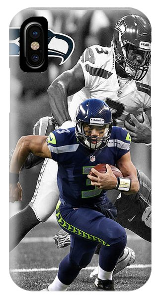 Russell Wilson Seahawks IPhone Case