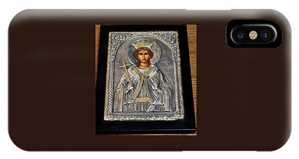 Russian Byzantin Icon IPhone Case