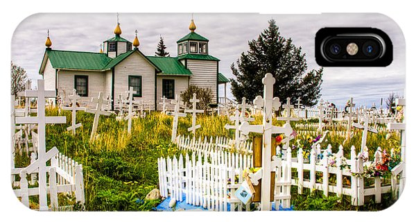 Russian Orthodox Church In Ninilchik Alaska IPhone Case