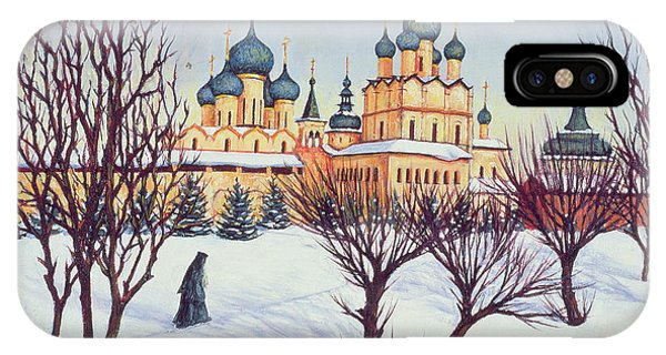 Palace iPhone Case - Russian Winter by Tilly Willis
