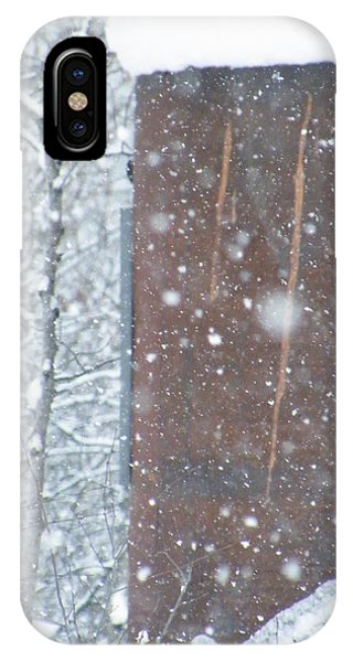 Rust Not Sleeping In The Snow IPhone Case