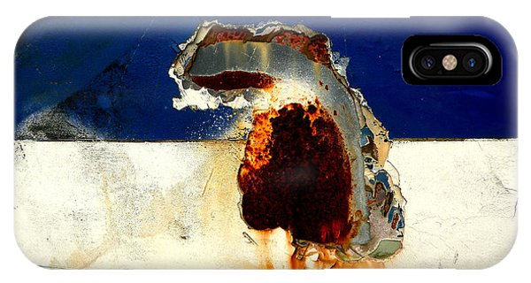 Rust Profile 2 IPhone Case