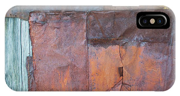 IPhone Case featuring the photograph Rust Squared by Fran Riley
