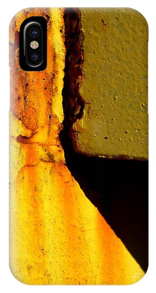 Rust With Shadows IPhone Case