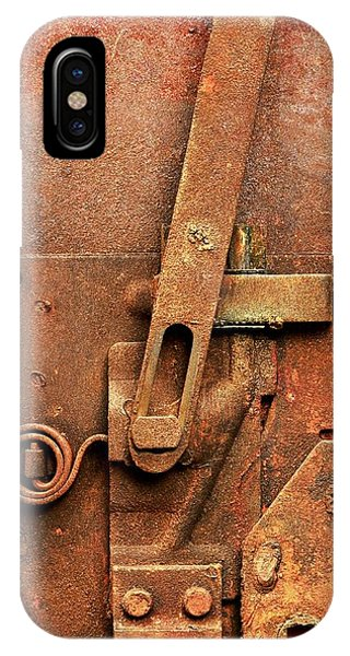 Rusted Latch IPhone Case
