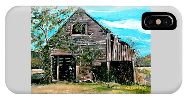 Rustic Barn - Mooresburg - Tennessee IPhone Case