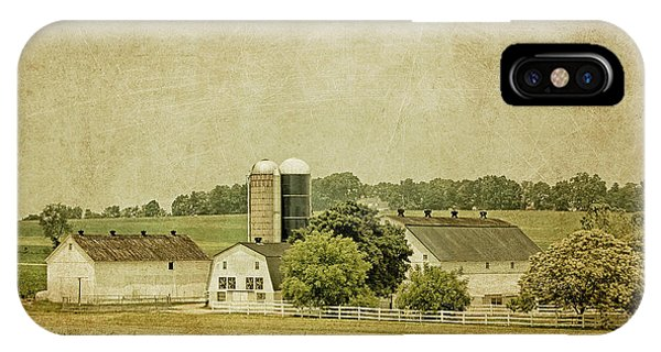Amish Country iPhone Case - Rustic Farm - Barn by Kim Hojnacki