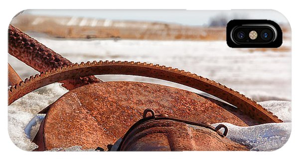 Rustic Gears IPhone Case