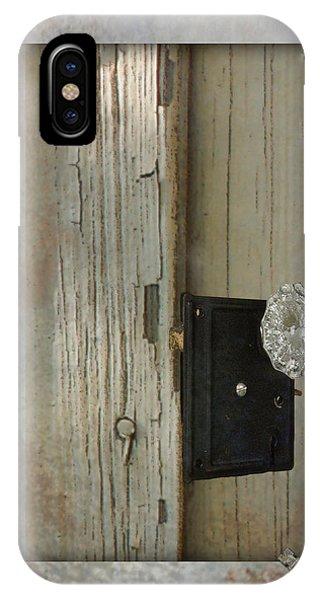 Rustic Glass Door Knob IPhone Case