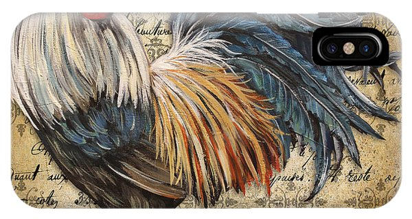 Rustic Rooster-jp2119 IPhone Case