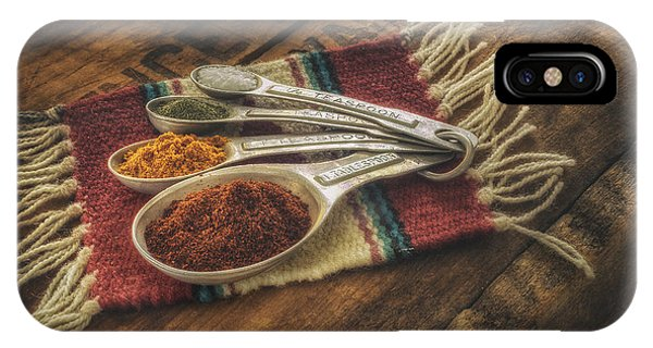Woods iPhone Case - Rustic Spices by Scott Norris