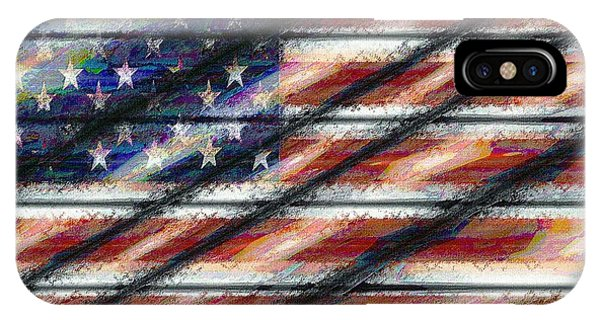 Rustic Usa IPhone Case
