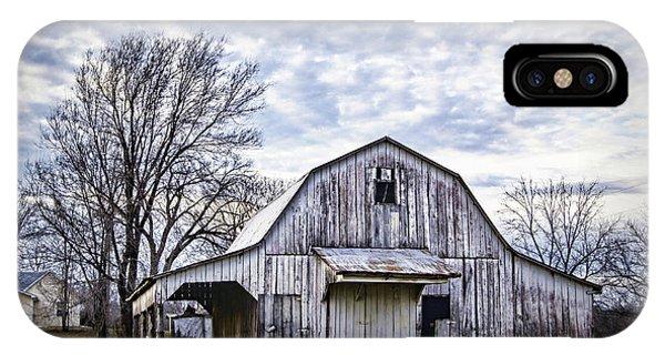 Rustic White Barn IPhone Case
