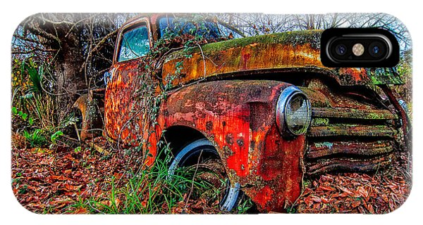 Rusty 1950 Chevrolet IPhone Case