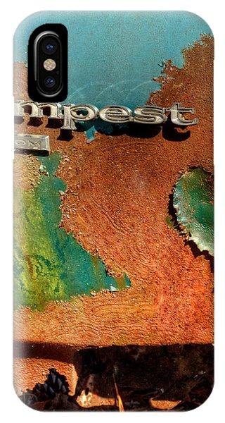 Rusty Blue Tempest IPhone Case