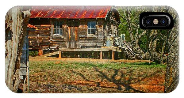Rusty Cabin IPhone Case