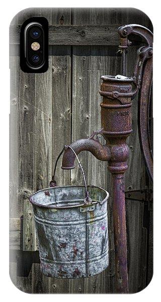 Rusty Hand Water Pump IPhone Case