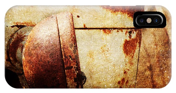 Rusty Headlamp IPhone Case
