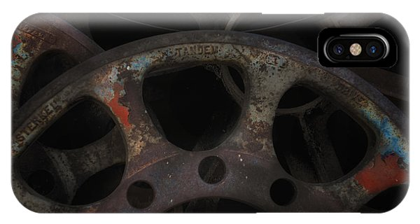 Rusty Iron Gears IPhone Case