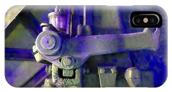 Rusty Machinery IPhone Case