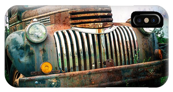 Rusty Old Chevy Pickup IPhone Case
