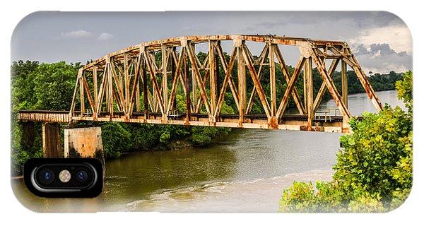 Rusty Old Railroad Bridge IPhone Case