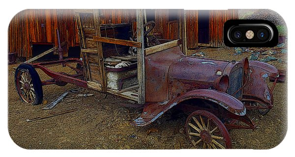 Rusty Old Vintage Car IPhone Case