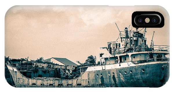 Rusty Ship IPhone Case