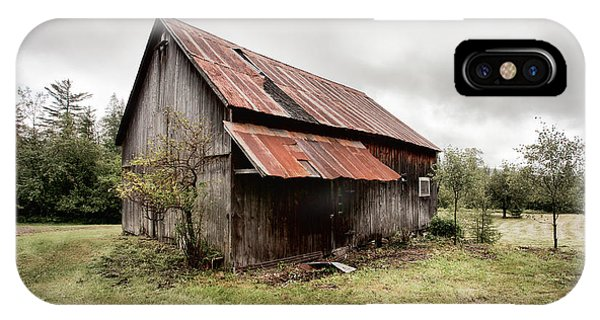 Rusty Tin Roof Barn IPhone Case