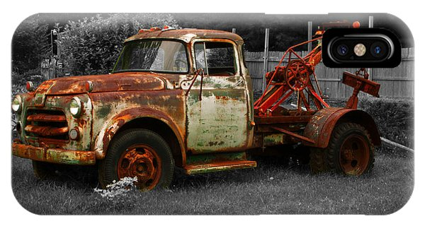 Rusty Tow Truck IPhone Case