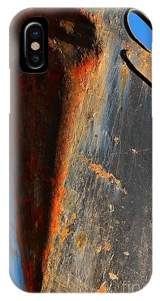 Port Townsend iPhone Case - Rusty Vee by Lauren Leigh Hunter Fine Art Photography