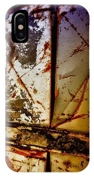 Rusty X IPhone Case