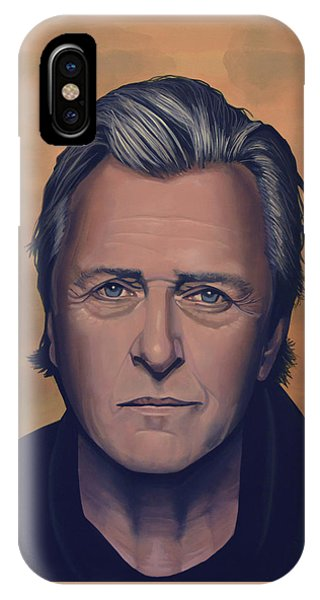 Fury iPhone Case - Rutger Hauer by Paul Meijering