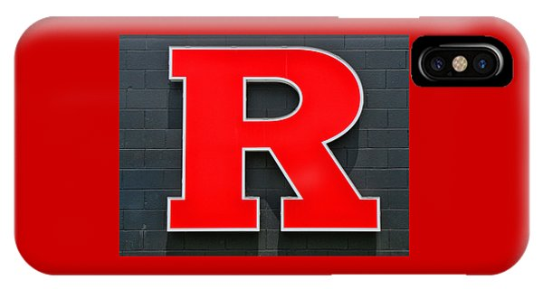 Rutgers Block R IPhone Case