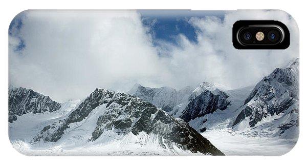 Ruth Gorge In Alaska's Denali National Park IPhone Case