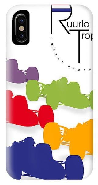 Holland iPhone Case - Ruurlo Grand Prix by Georgia Fowler