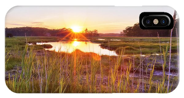 Rye Marsh Sunset IPhone Case