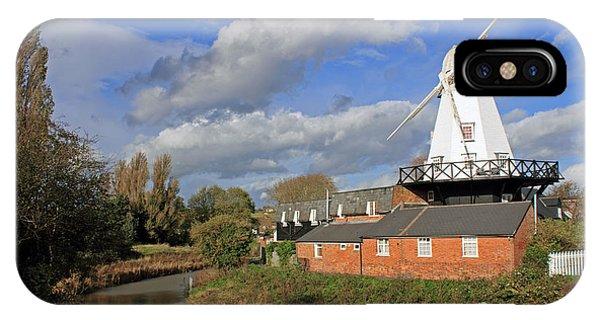 Rye Windmill IPhone Case