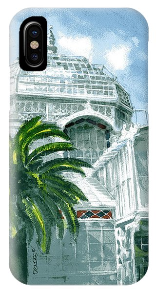 Sf Conservatory IPhone Case