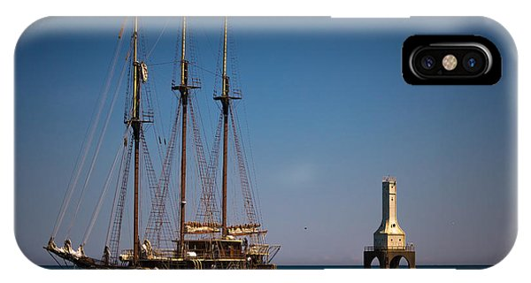 s/v Peacemaker II IPhone Case