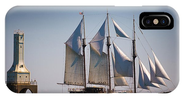 s/v Peacemaker IPhone Case