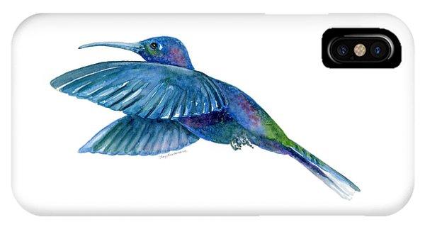 Sabrewing Hummingbird IPhone Case