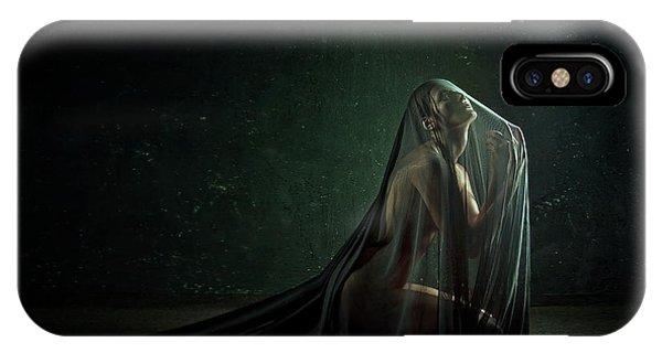 Russia iPhone Case - Sacrament by Angelina Goncharova