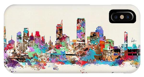 Sacramento iPhone X Case - Sacramento California by Bri Buckley