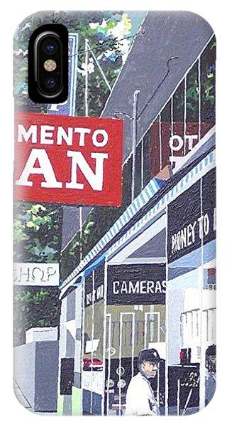 Sacramento Loan Phone Case by Paul Guyer