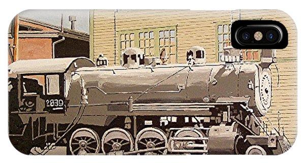 Sacramento Locomotive Works Phone Case by Paul Guyer