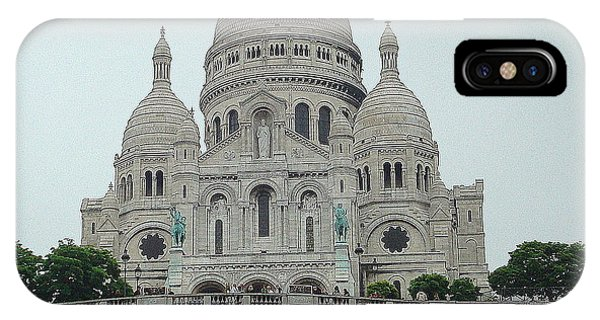 Sacre Coeur Basilica IPhone Case