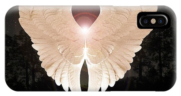 Sacred Angel IPhone Case