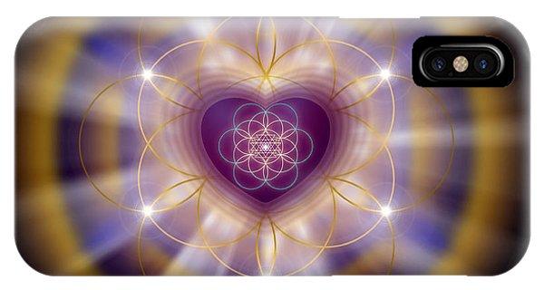 Sacred Geometry 204 IPhone Case