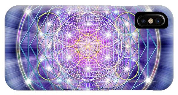 Sacred Geometry 46 IPhone Case